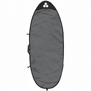 Channel Islands Feather Lite Specialty Surfboard Bag - Charcoal/Hex - front