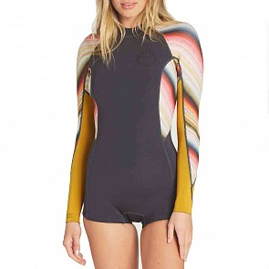 Billabong Women's Spring Fever 2mm Long Sleeve Spring Wetsuit  - Serape