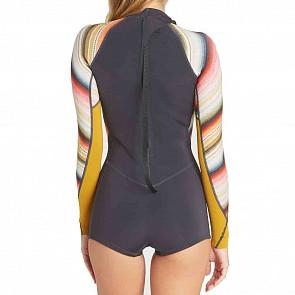 Billabong Women's Spring Fever 2mm Long Sleeve Spring Wetsuit