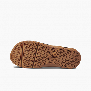 Reef Leather Ortho Spring Sandals - Brown