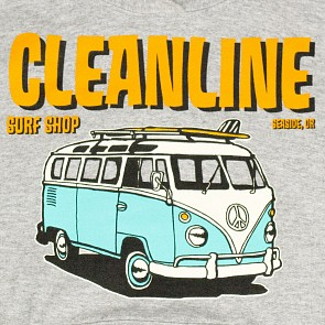 Cleanline Youth Bus Trip Seaside Hoody - Athletic Heather