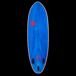 Softech Flash Geiselman 6'0 Soft Surfboard - Blue Marble