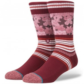 Stance Scenic Socks - Red