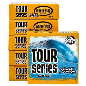 Sticky Bumps Tour Series Warm/Tropical Surf Wax