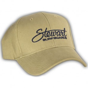 Stewart Surfboards Fitted Hat - Tan