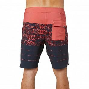 O'Neill Superfreak Kaleidostoke Boardshorts - Coral