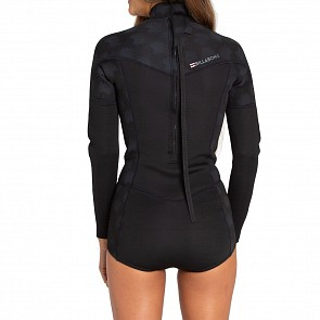 Billabong Women's Synergy 2mm Long Sleeve Back Zip Spring Wetsuit