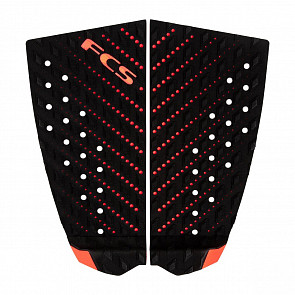 FCS T-2 Traction - Black/Blood