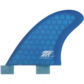 True Ames Fins 3.25'' FCS TA Side Bite Fin Set - Blue