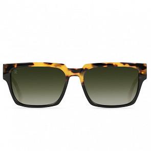 Raen Rhames Sunglasses - Tamarin/Bottle Green Gradient
