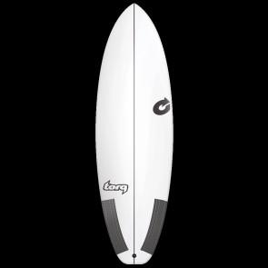 Torq TEC PG-R 6'4 x 22 1/2 x 2 7/8 Surfboard - Top