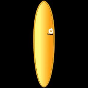 Torq Mod Fun 7'2 x 20 1/4 x 2 3/4 Surfboard - Orange/Yellow/Red