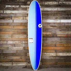 Torq Longboard 9'0 x 22 3/4 x 3 1/8 Surfboard - Grey/Blue/Blue - Deck