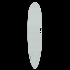 Torq Mini Longboard 8'0 x 22 x 3 Surfboard - Grey/Yellow/Orange