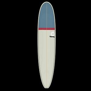 Torq Longboard 9'0 x 22 3/4 x 3 1/8 Surfboard - Sand/Red/Grey - Deck