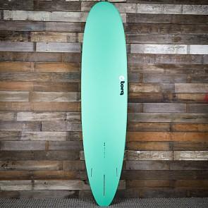 Torq Longboard 8'6 x 22 1/2 x 3 1/8 Surfboard - Seagreen/White