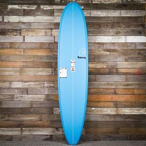 Torq Longboard 8'6 x 22 1/2 x 3 1/8 Surfboard - Blue - Deck