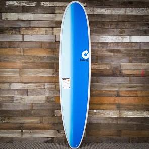 Torq Longboard 8'6 x 22 1/2 x 3 1/8 Surfboard - Grey/Blue/Blue - Deck