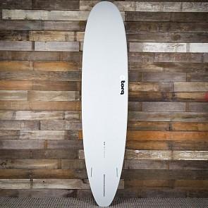 Torq Longboard 8'6 x 22 1/2 x 3 1/8 Surfboard - Grey/Blue/Blue