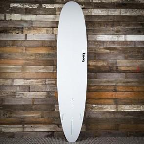 Torq Longboard 9'0 x 22 3/4 x 3 1/8 Surfboard - Grey/Blue/Blue