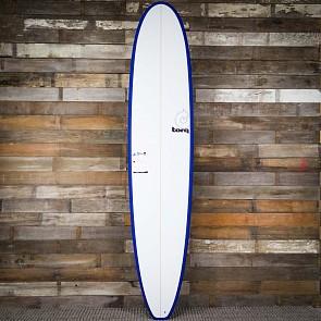 Torq Longboard 9'0 x 22 3/4 x 3 1/8 Surfboard - Navy/White - Deck