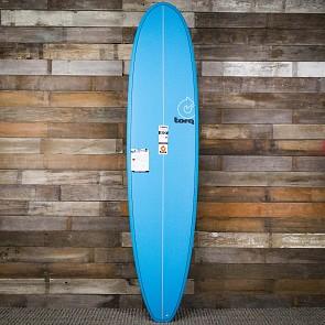 Torq Mini Longboard 8'0 x 22 x 3 Surfboard - Blue - Deck