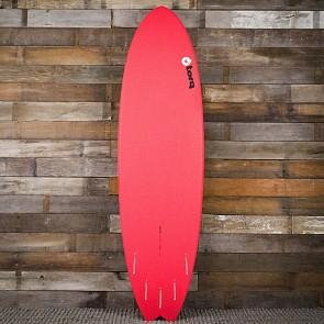 Torq Mod Fish 6'10 x 21 3/4 x 2 3/4 Sufboard - Red/White