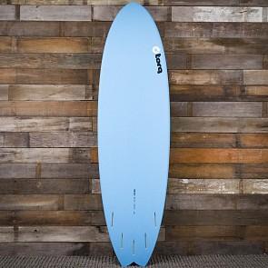 Torq Mod Fish 6'10 x 21 3/4 x 2 3/4 Surfboard - Blue