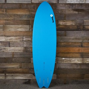 Torq Mod Fish 6'6 x 21 x 2 5/8 Surfboard - Blue