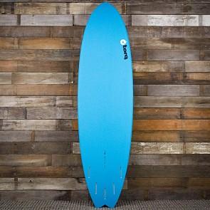 Torq Mod Fish 7'2 x 22 1/2 x 3 Surfboard - Blue