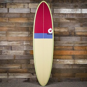 Torq Mod Fun 7'2 x 21 1/4 x 2 3/4 Surfboard - Sand/Grey/Red - Deck