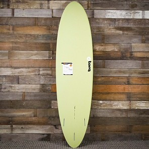 Torq Mod Fun 7'2 x 21 1/4 x 2 3/4 Surfboard - Sand/Grey/Red