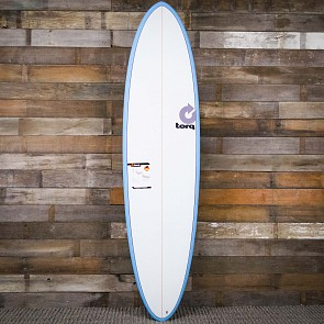 Torq Mod Fun 7'2 x 21 1/4 x 2 3/4 Surfboard - Blue/White - Deck