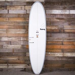 Torq Mod Fun 7'4 x 22 x 3 Surfboard - Grey/White - Deck