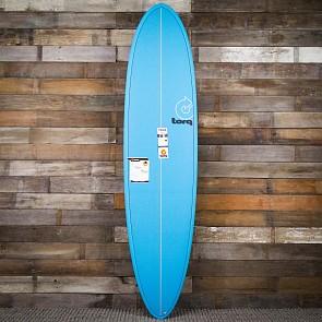 Torq Mod Fun 7'6 x 21 1/2 x 2 7/8 Surfboard - Blue - Deck