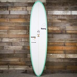 Torq Mod Fun 7'6 x 21 1/2 x 2 7/8 Surfboard - Seagreen/White - Deck