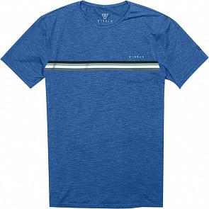 Vissla The Trip Surf T-Shirt - Royal Heather - Front