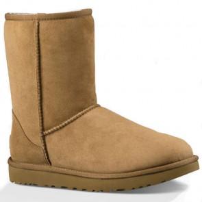 UGG Australia Women's Classic II Short Boots - Chestnut