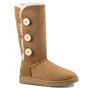 UGG Australia Bailey Button Triplet II Boots - Chestnut