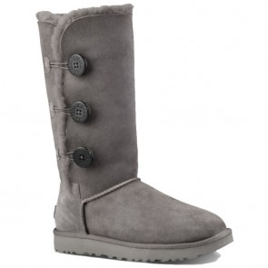 UGG Australia Bailey Button Triplet II Boots - Grey