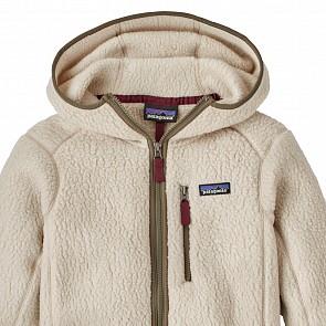 Patagonia Women's Retro Pile Fleece Hoody - Pelican