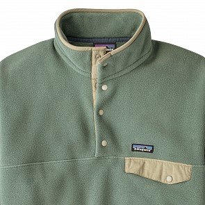 Patagonia Lightweight Synchilla Snap-T Fleece Pullover - Pesto