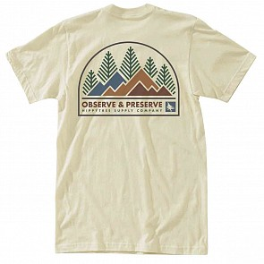 Hippy Tree Observation T-Shirt - Natural