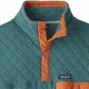 Patagonia Organic Cotton Quilt Snap-T Pullover - Tasmanian Teal