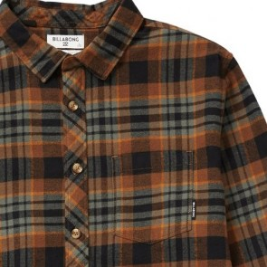 Billabong Coastline Long Sleeve Flannel Shirt - Alpine