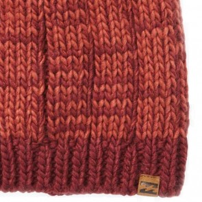 Billabong Women's Chill Out Pom Beanie - Redwood