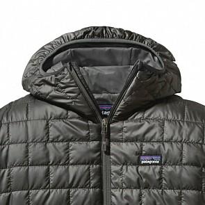 Patagonia Nano Puff Hoody Jacket - Forge Grey