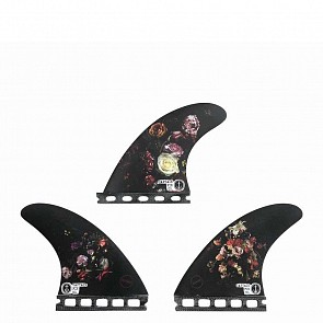 Captain Fin Dion Agius Flowers Tri Fin Set