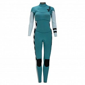 Hurley Women's Advantage Plus 3/2 Chest Zip Wetsuit - Mineral Tea