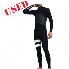 USED Hurley Advantage Plus 3/2 Chest Zip Wetsuit - Size XL
